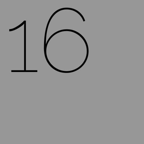 PP vierkant 16